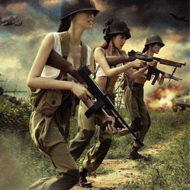 东莞娘子军野战