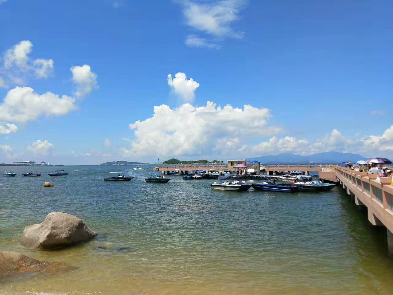 巽寮湾海边拓展两日游